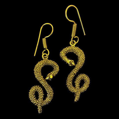 Indian Brass Earrings - BS-B31