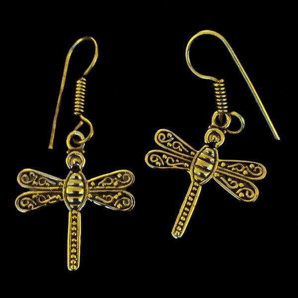 Indian Brass Earrings - BS-C144