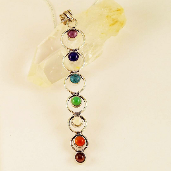 Chakra Pendant With Chain