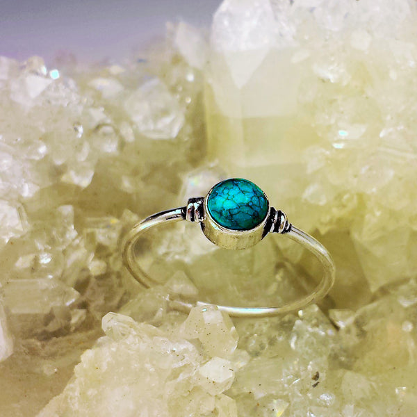 Delicate Design With Turquoise GR-C6