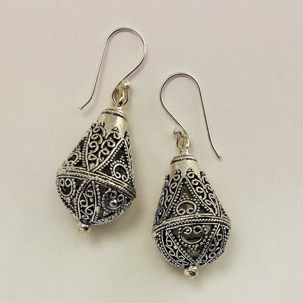 Indian Filigree Tear Drop  GS-A3