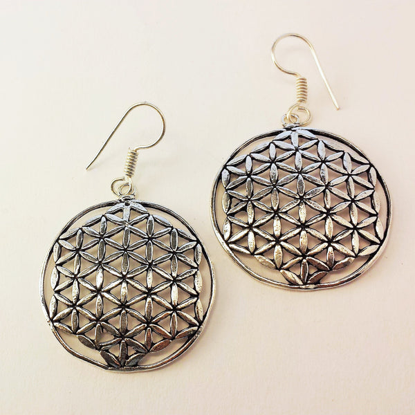 Flower Of Life Earrings  GS-A9