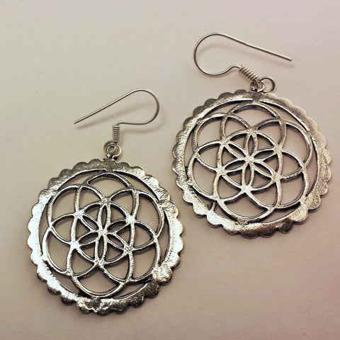 Seed Of Life Earrings  GS-B11
