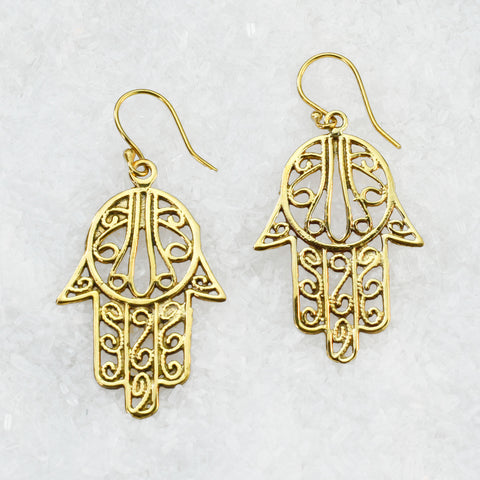 Brass Earrings BS-B500