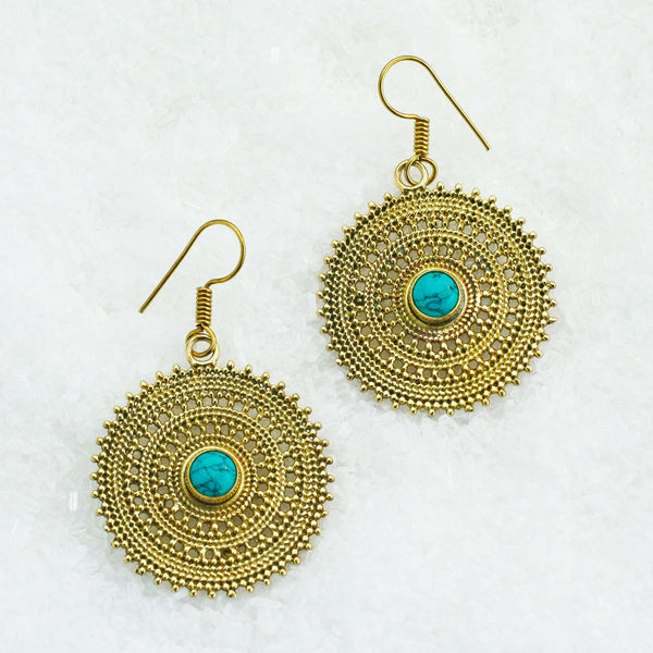 Brass Earrings BS-B501