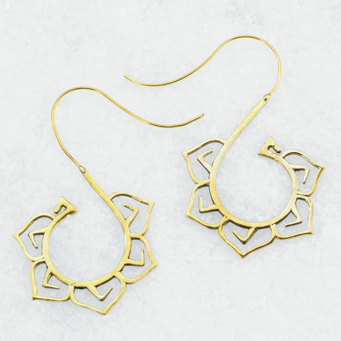 Brass Earrings BS-B502