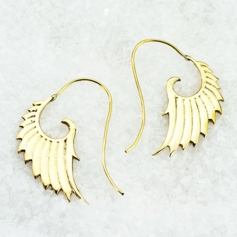 Indian Brass Earrings - BS-B503