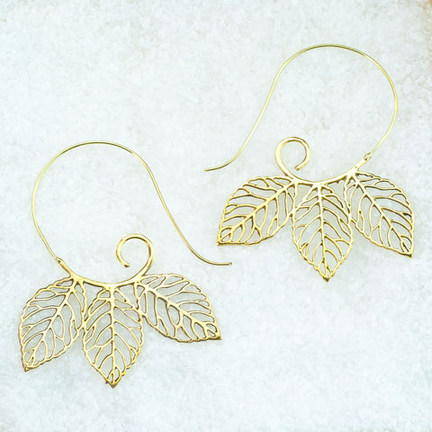 Indian Brass Earrings - BS-A601
