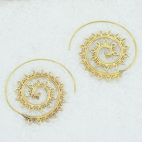 Indian  Brass Earrings - BS-B111