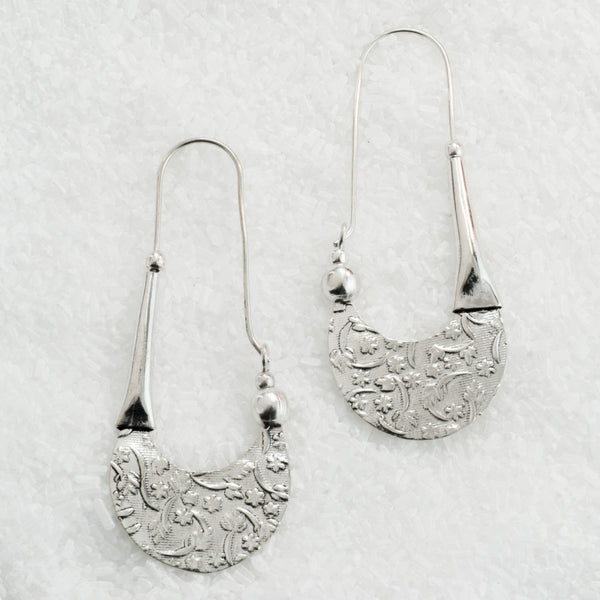 German Silver Earrings  GS-A600