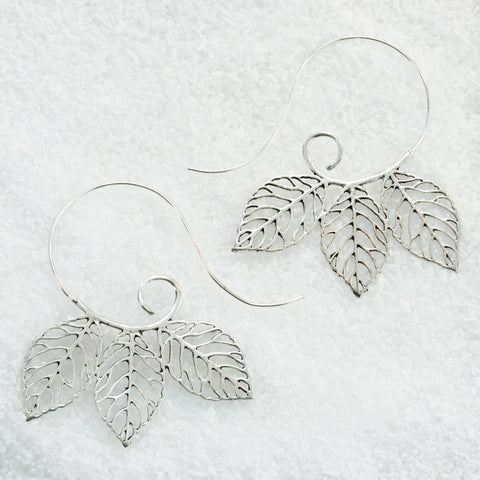 German Silver Earrings  GS-A601