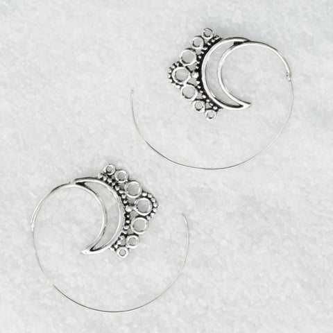 Sterling Silver Earrings  SS-B501