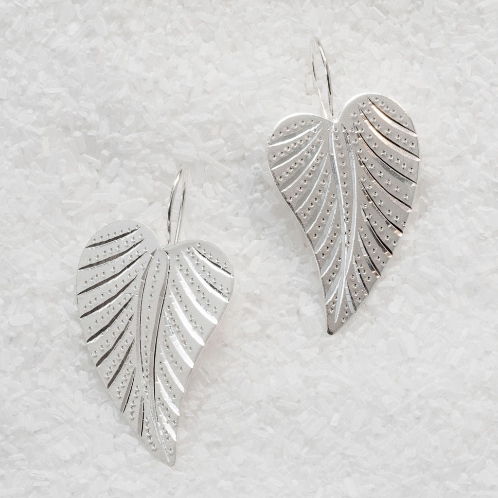 German Silver Earrings  GS-B503