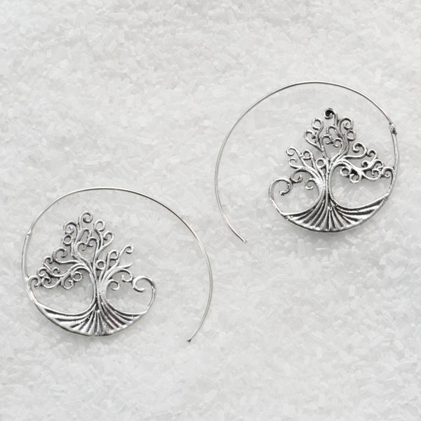 German Silver Earrings  GS-B504