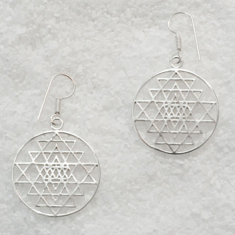 German Silver Earrings  GS-B505
