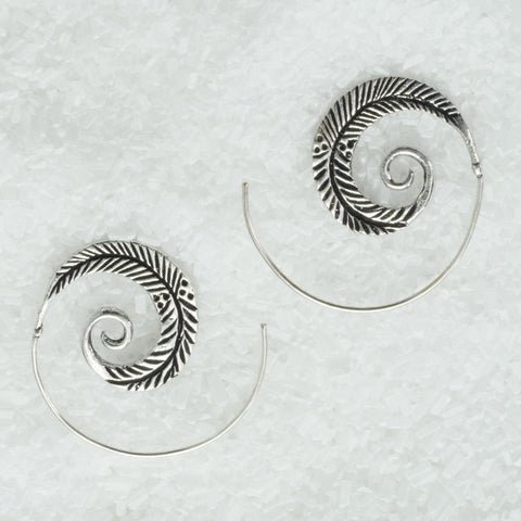 German Silver Earrings  GS-B6