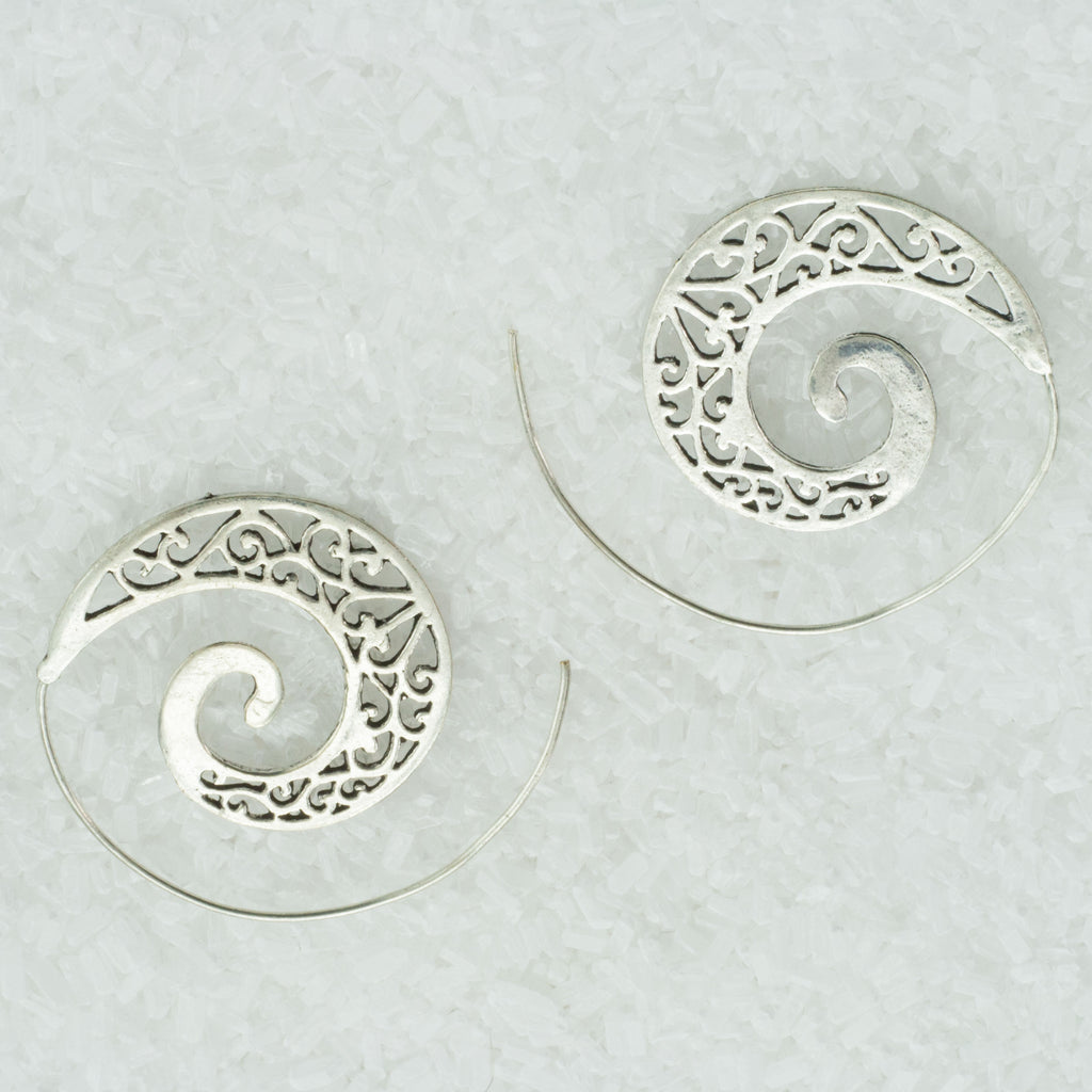 Indian Spiral Earrings  GS-C4