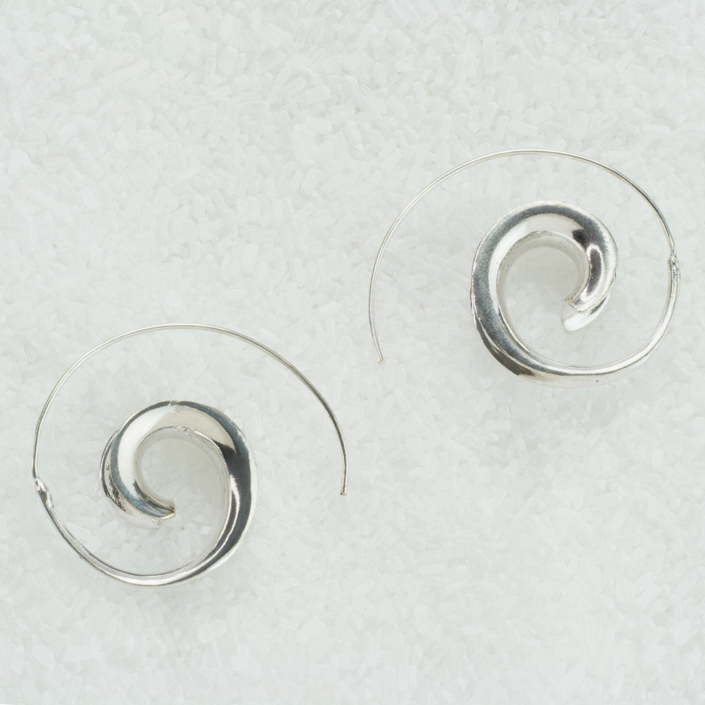 Three Dimentional Spiral Earrings  GS-A1