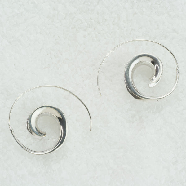 Three Dimentional Spiral Earrings  SS-A1