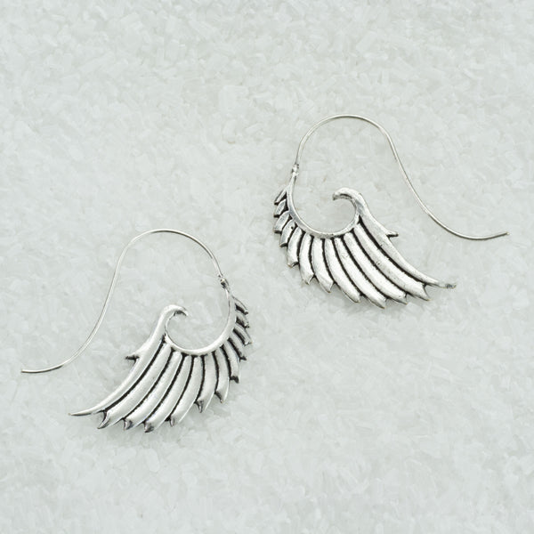 German Silver Earrings  GS-B507
