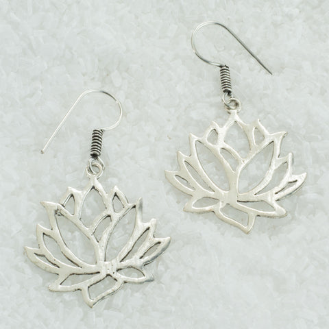 German Silver Earrings  GS-B509