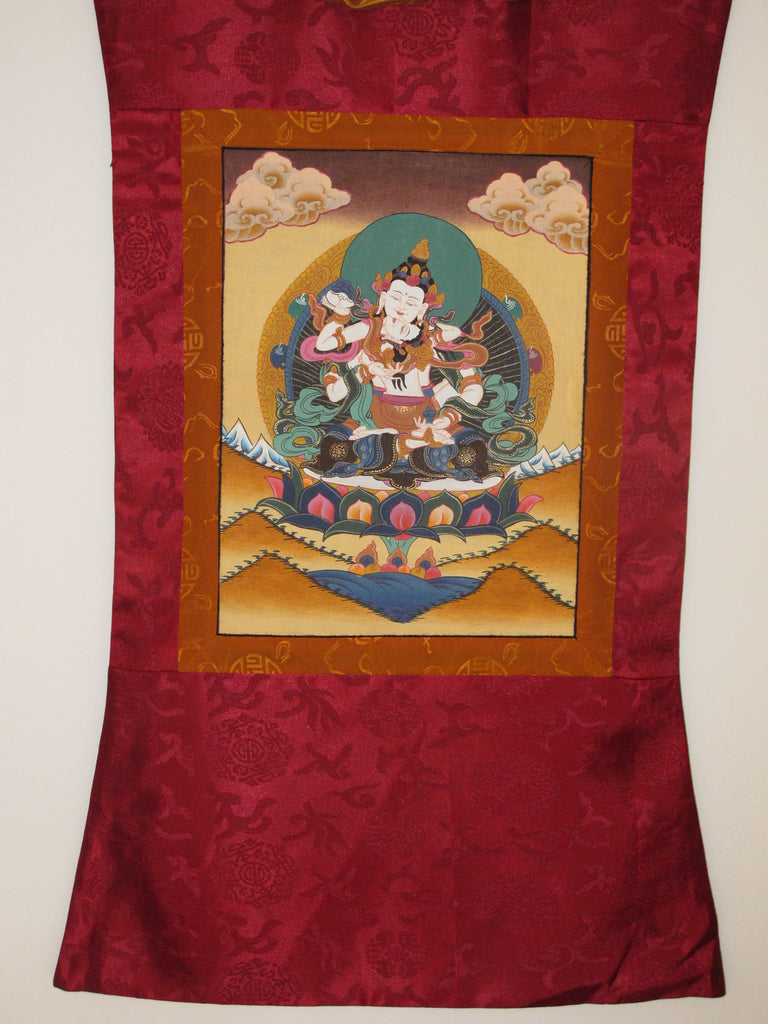 Buddha with Consort (Samantabhadra)