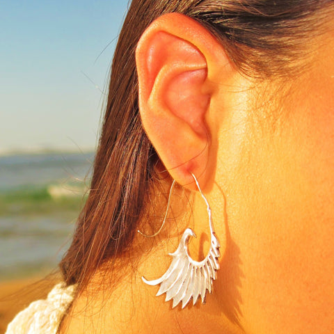 Angel Wings Earrings In Flight GS-A12