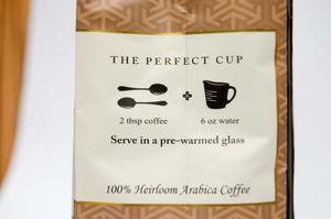 Yemen coffee bag brew directions