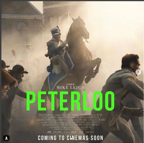 Peterloo a film by Mike Leigh