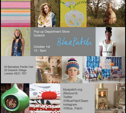 Blue Patch: Sustainable products in Dulwich, October 1st