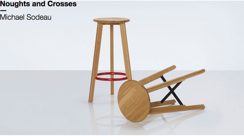 Noughts and Crosses Stool