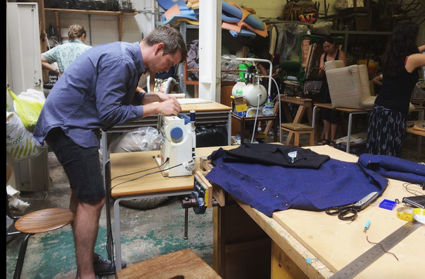 Upholstery Course at School of Stuff