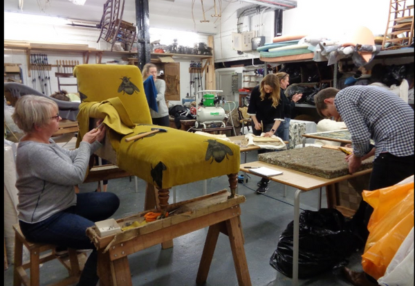 Upholstery Course at the School of Stuff