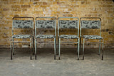 1940's Industrial Stacking Chairs: 4
