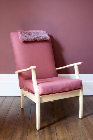 Strawberry Hygge Easy Chair
