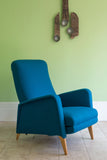 Mid Century French Reclining Chair