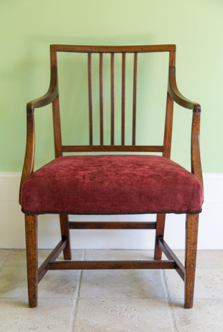 Georgian Open Armchair