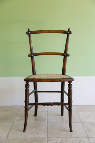 Victorian Caned Chair