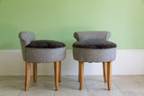 Vintage Pair of Vanity Chairs