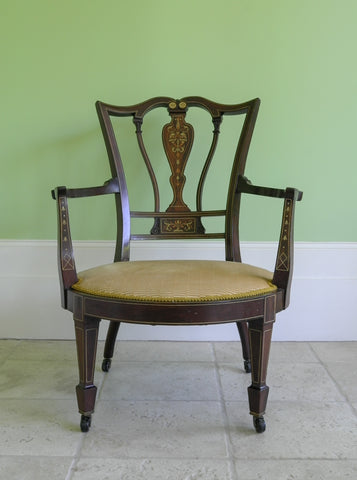 Edwardian Open Armchair