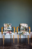 A pair of antique stylish French 1940s Bridge Chairs
