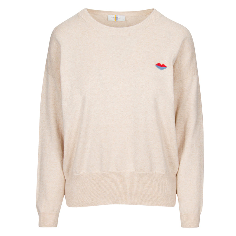 The Crewneck/Embroidered