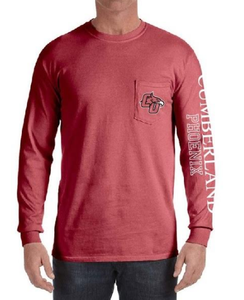 L/S Comfort Colors w/ pocket S-3X