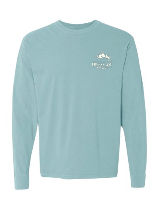 Comfort Colors- Chalky Mint Long Sleeve Tee