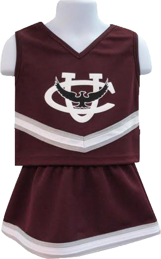 Cheerleader Outfit - Toddler 2t-5t