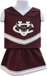 Cheerleader Outfit - Toddler 2T-YOUTH 10
