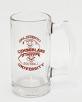 Football Glass Mug 12oz