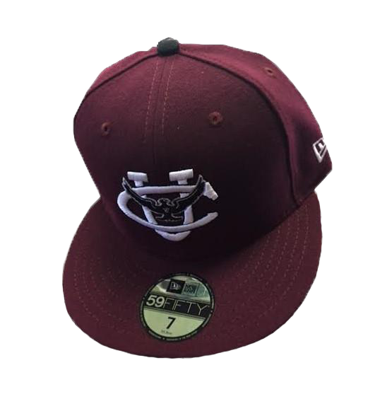 New Era Maroon Hat