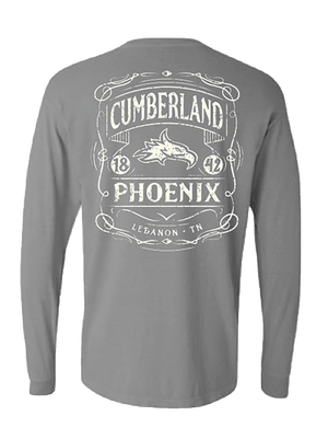 Comfort Colors -Grey Long Sleeve Tee
