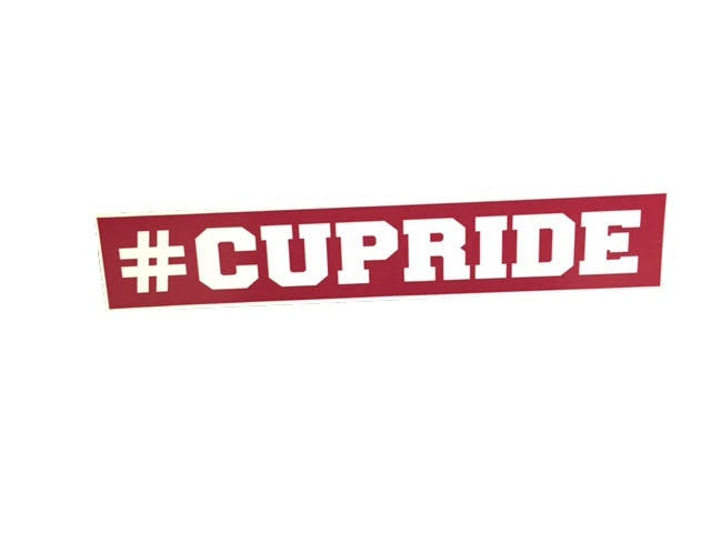 #CUPride Decal